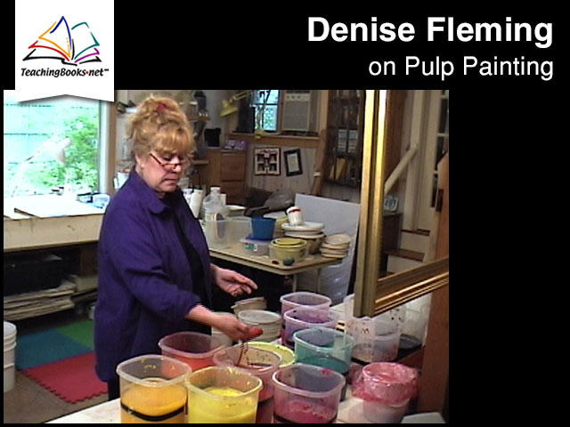 Denise Fleming on Pulp Painting
