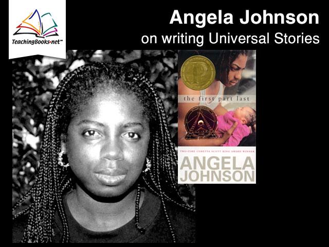 Teachingbooks In Depth Written Interview Angela Johnson