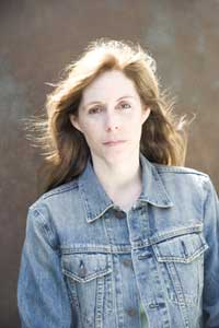 head shot of Laurie Halse Anderson