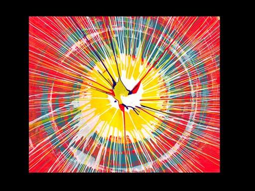 David's spin art