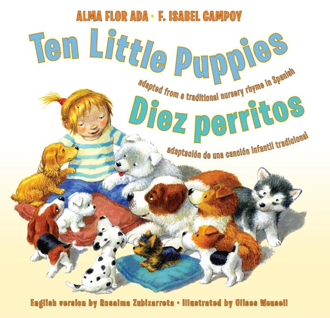 Ten Little Puppies / Diez perritos
