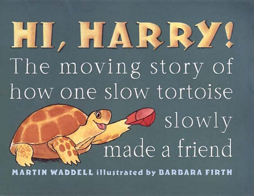 Hi, Harry!: The Moving Story of How One Slow Tortoise Made a Friend