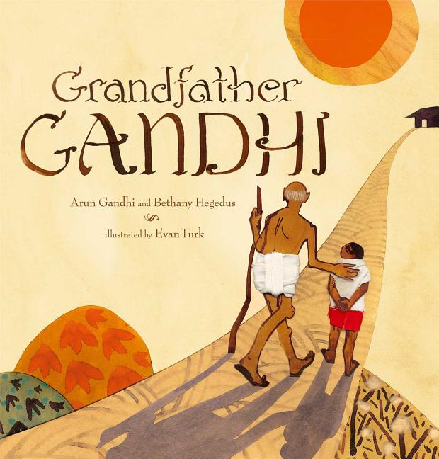 Book Cover for Grandfather Gandhi