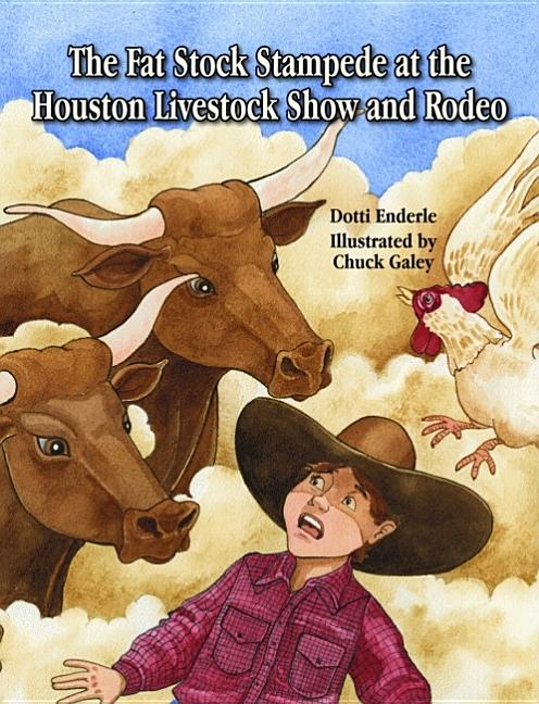 Fat Stock Stampede at the Houston Livestock Show and Rodeo