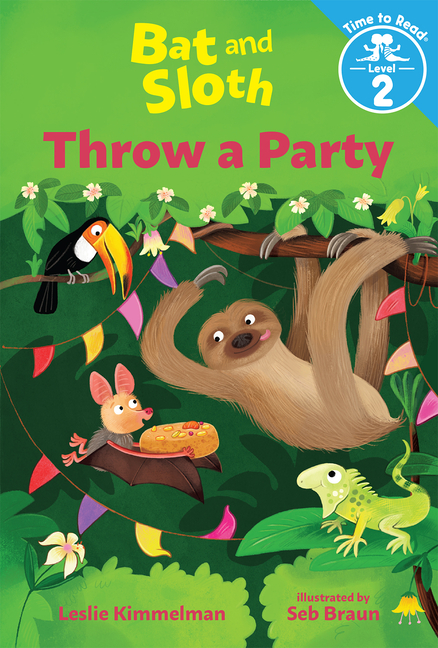 Bat and Sloth Throw a Party