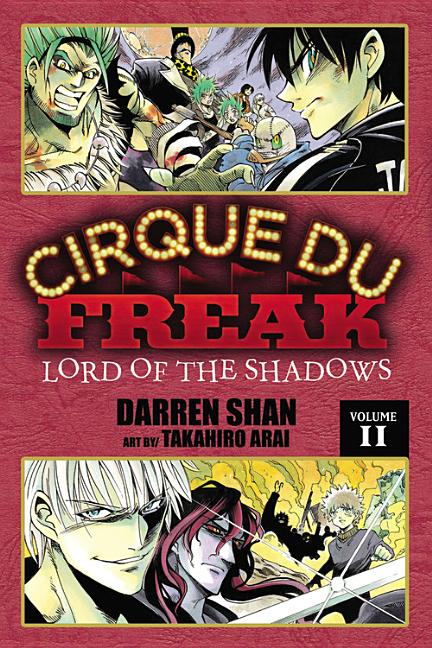 Lord of the Shadows: Manga