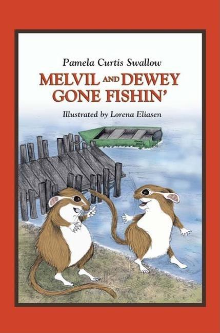 Melvil and Dewey Gone Fishin'