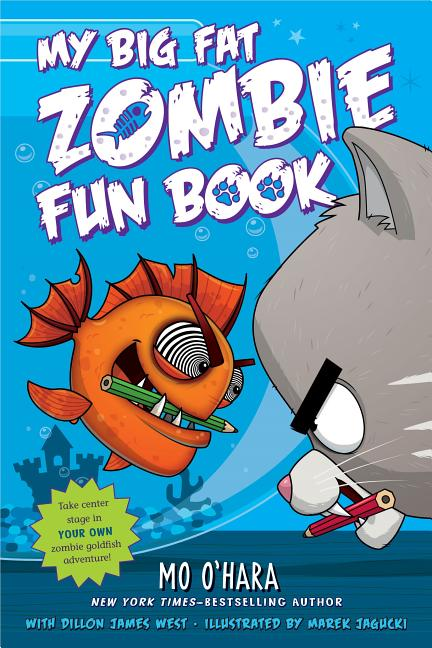 My Big Fat Zombie Fun Book