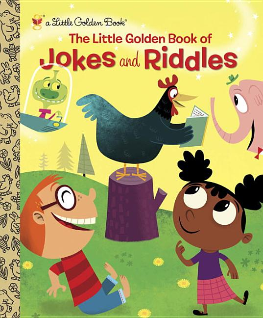 Little Golden Book of Jokes and Riddles