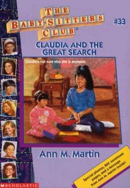 Claudia and the Great Search