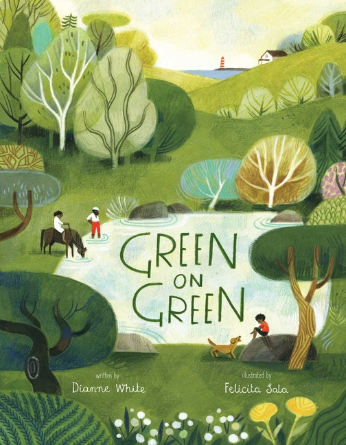 Book Cover for Green on Green