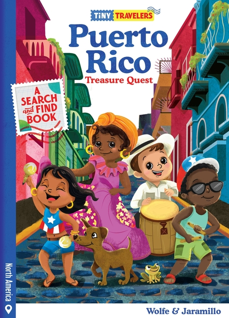 Book Cover for Tiny Travelers Puerto Rico Treasure Quest