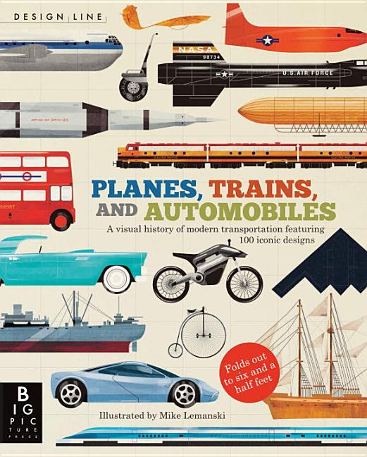 Planes, Trains, and Automobiles: A Visual History of Modern Transportation