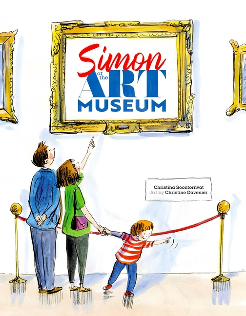 Simon at the Art Museum