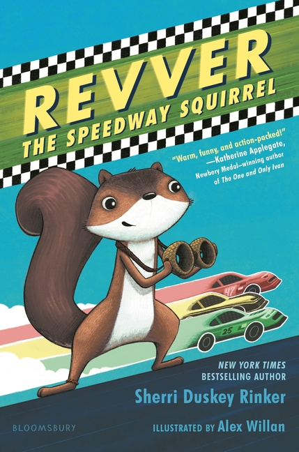 Revver the Speedway Squirrel
