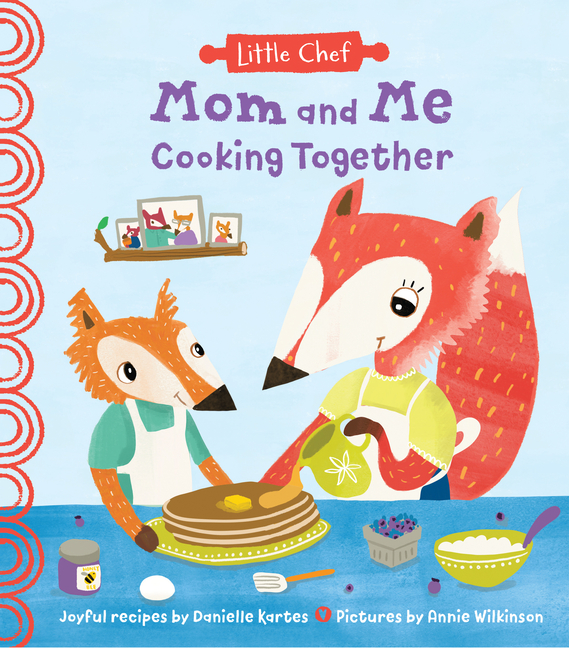 Mom and Me Cooking Together