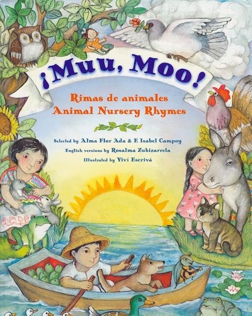 Muu, Moo!: Rimas de Animales / Animal Nursery Rhymes