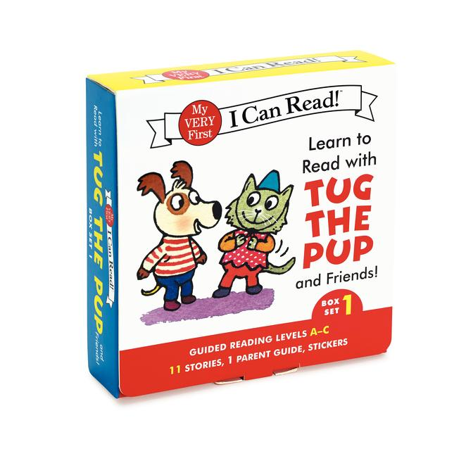 Learn to Read with Tug the Pup and Friends!