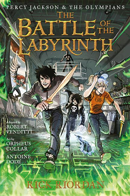 Battle of the Labyrinth (Graphic Novel), The