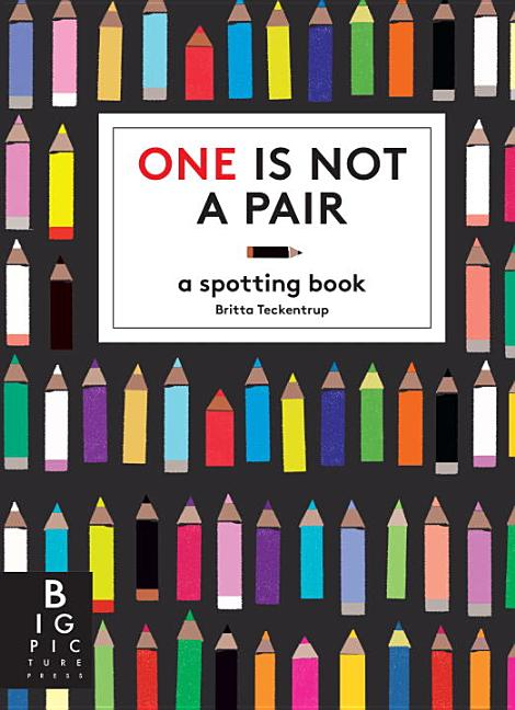 One Is Not a Pair: A Spotting Book