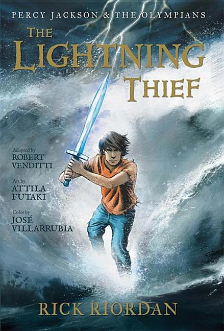The Lightning Thief: Graphic Novel