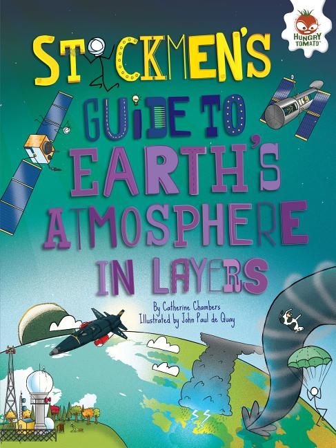 Stickmen's Guide to Earth's Atmosphere in Layers