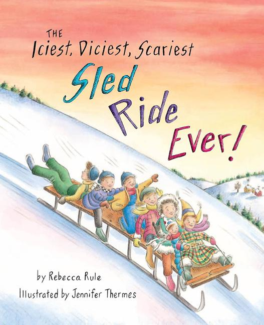 Iciest, Diciest, Scariest Sled Ride Ever!