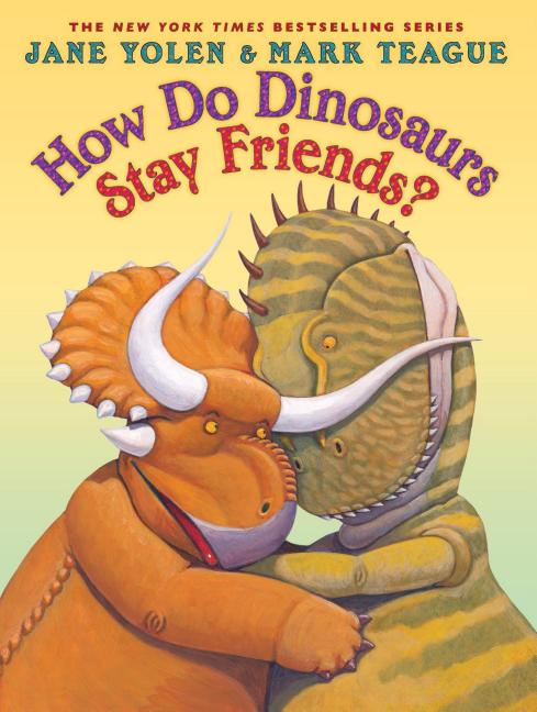 How Do Dinosaurs Stay Friends?