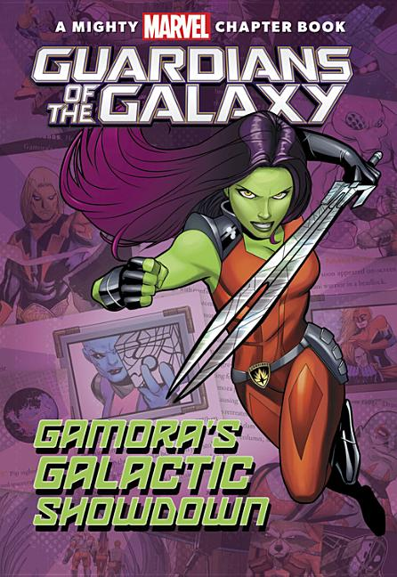 Gamora's Galactic Showdown: Guardians of the Galaxy