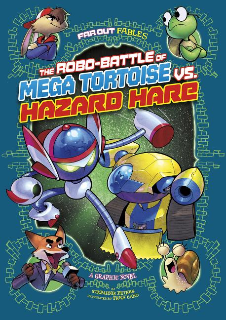 Robo-Battle of Mega Tortoise vs. Hazard Hare