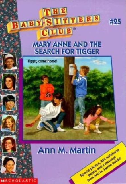 Mary Anne and the Search for Tigger