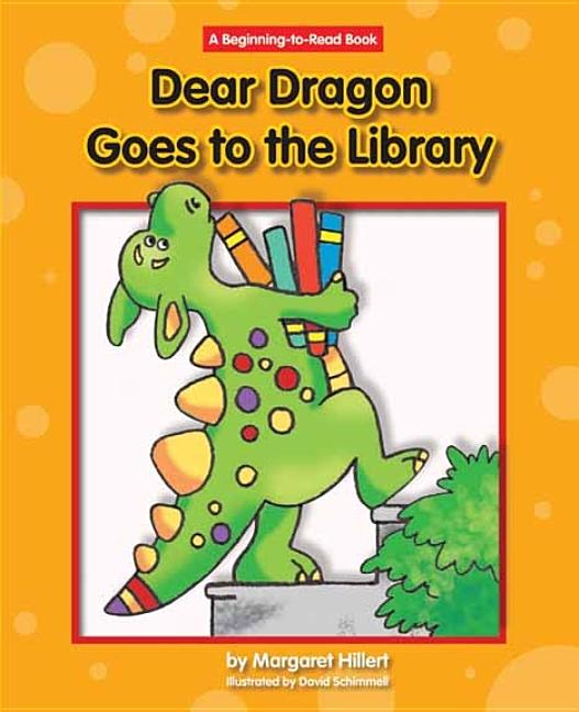 Book Cover for Dear Dragon Goes to the Library
