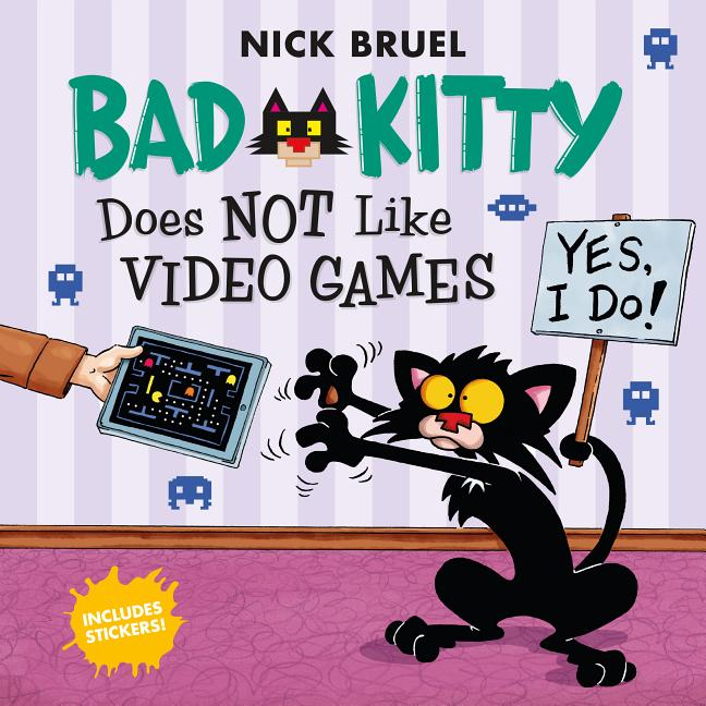Bad Kitty Does Not Like Video Games