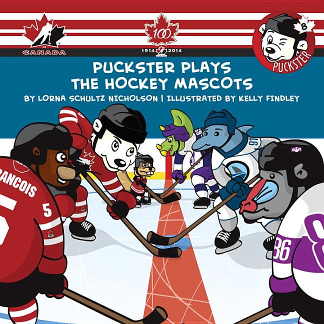 Puckster Plays the Hockey Mascots