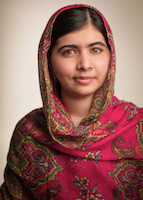 Photo of Malala Yousafzai