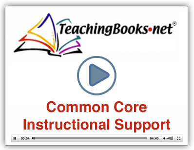 Teachingbooks Common Core Standards Support