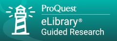 ProQuest eLibrary Guided Research Edition