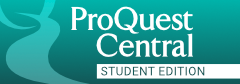 ProQuest Central Student -Opens in new window