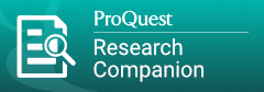 ProQuest Research Companion -Opens in new window