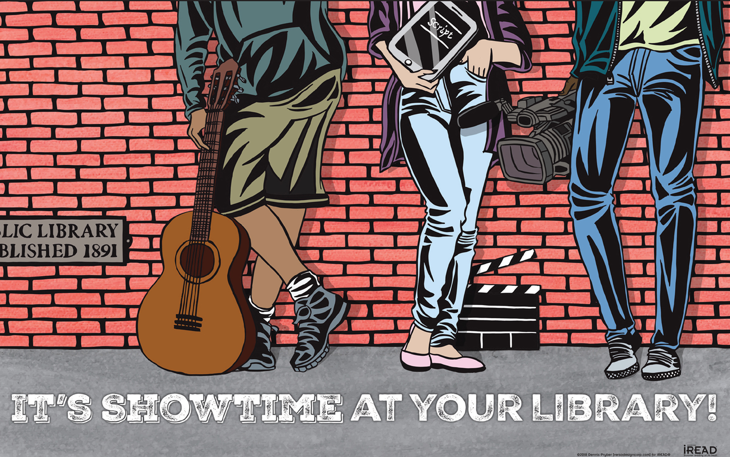 Showtime at Your Library! iREAD Teen
