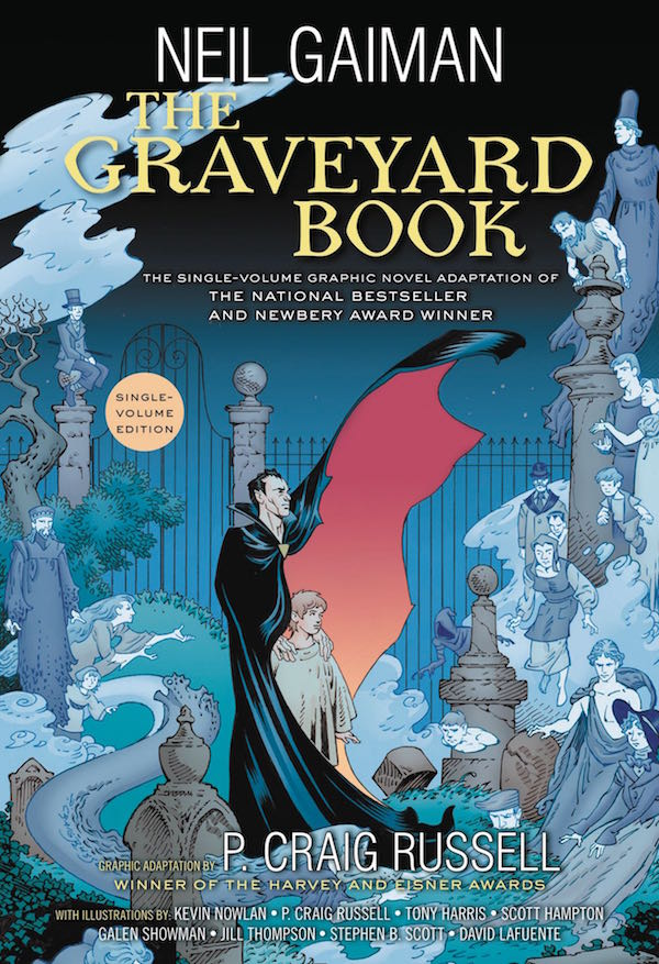 The Graveyard Book (Graphic Novel)
