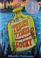 Teachingbooks three times lucky three times lucky fandeluxe